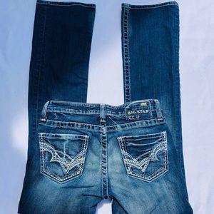 Big Star Kayla Mid Rise Bootcut Jeans